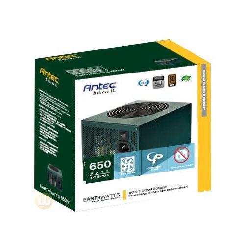 ANTEC Earthwatt 650W Power Supply EA 650 GREEN On Sale