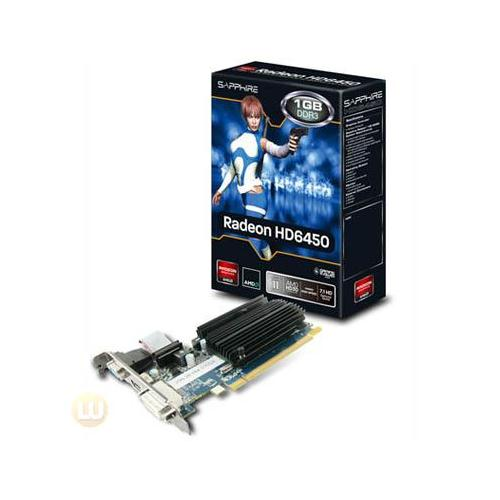 Sapphire Radeon HD6450 Video Card 11190-02-20G