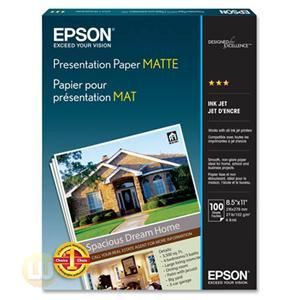 Epson Photo paper - Letter A Size (8.5 in x 11 in) - 105 g/m2 S041062