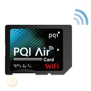 PQI Memory Flash 6W25-016GR1M1A Air Card 16GB 802.11n WIFI SD Micro iOS Android