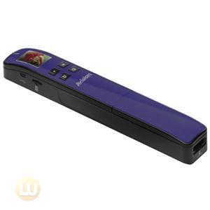 Avision Scanner 000-0743D-01G 1.8inch TFT LCD MicroSD 32GB 600 300dpi USB Purple
