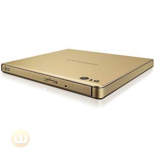 LG Storage GP65NG60 External Slim DVDRW 8X USB Gold with Cyberlink Software