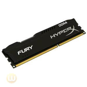 Kingston 8GB(1x8G)DDR4 2400MHz Memory Unbuffered HyperX Fury Black HX424C15FB2/8