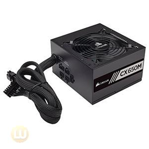 Corsair CX650M 650W Power Supply 80PLUS Bronze, Semi-Modular CP-9020103-NA