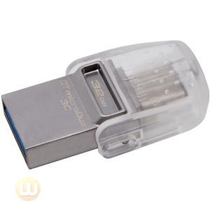 Kingston 32GB DT MICRODUO 3C, USB 3.0/3.1