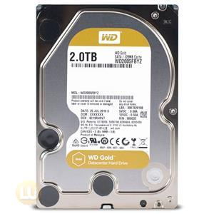 Western Digital HDD WD2005FBYZ 2TB SATA 6Gb/s 7200RPM 128MB 3.5inch WD Gold Bare