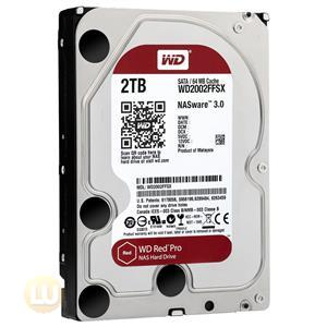 Western Digital 2TB Hard Drive WD2002FFSX SATA 7200RPM 64MB Cache 3.5inch RED