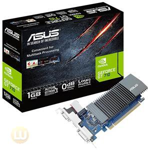 Asus GeForce GT 710 1GB GDDR5 Graphic Card, 32bit, VGA, DVI, HDMI,OpenGL 4.5