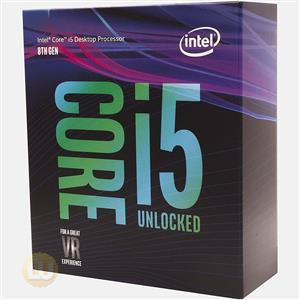 Intel Core i5-8600K Boxed CPU 9M Cache up to 3.60GHz LGA 1151 6C/6T Retail