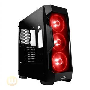 Antec Case DF500 RGB Dark Fleet series gaming mid-tower with RGB lighting Retail