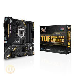 Asus TUF B360M-PLUS Gaming S Motherboard LGA1151 (300 Series) DDR4 HDMI VGA M.2