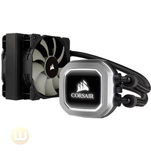 Corsair Hydro Series H75 Liquid CPU Cooler, 120mm Radiator, 2 SP120 PWM Fans