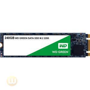 Western Digital SSD WDS240G2G0B 240GB M.2 2280 SATA 6Gb/s WD Green Retail
