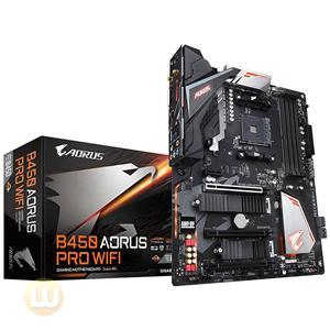 Gigabyte Ultra Durable B450 AORUS PRO WIFI Desktop Motherboard