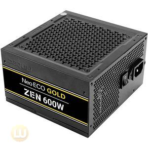 Antec Power Supply NE600G ZEN 600W 80Plus Gold Fixed Cable ATX 12V 2.4 APFC non Modular Retail