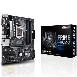 ASUS MB PRIME B365M-A B365 S1151 DDR4 PCIE PCIE USB HDMI DVI Retail