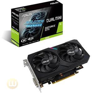 ASUS DUAL NVIDIA GeForce GTX 1650 MINI OC Edition Gaming CSM Graphics Card