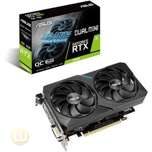 ASUS Dual GeForce RTX 2060 MINI OC Edition Graphic Card