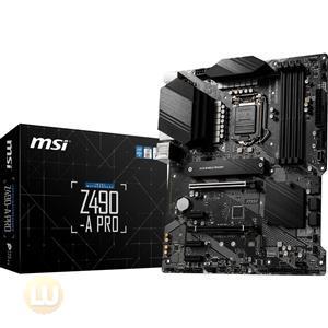 MSI Z490-A PRO Desktop Motherboard